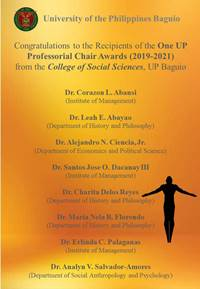 Professioral Chair Awards