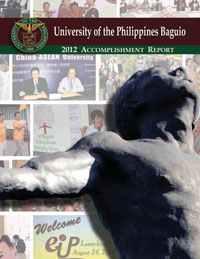 UP Baguio 2012 Annual Report