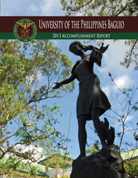 UP Baguio 2013 Annual Report