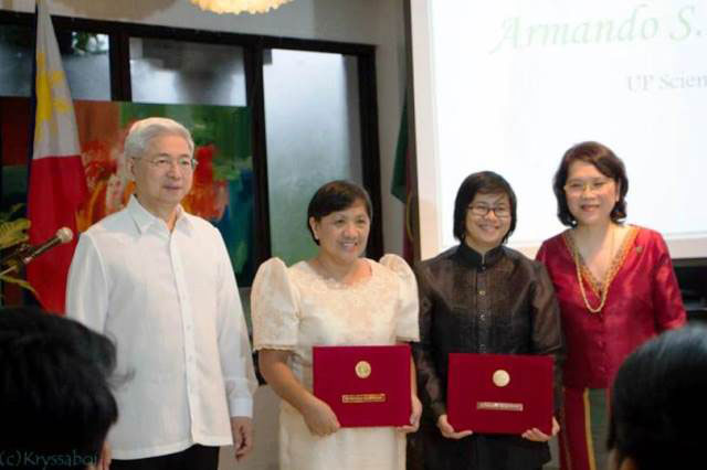 UP Baguio professors lauded for scientific productivity